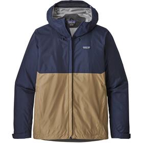 Patagonia Torrentshell Jacket Herr classic navy with mojave khaki